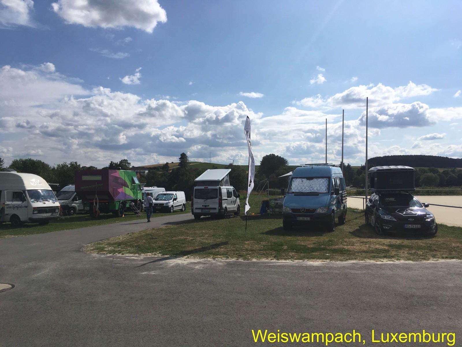 Freiheitsmobile-Treffen in Luxemburg